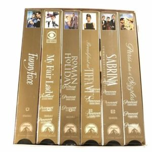 Audrey Heburn 6 VHS Tapes Sealed New In Box NIB